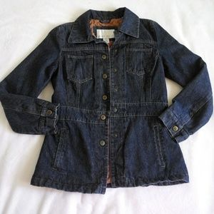 Nine West Demin Jacket *quilted lining.
